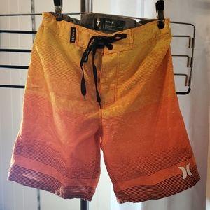 Boys Hurley Boardshorts size 7